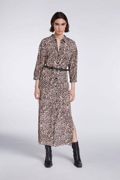 SET Dress in Animal Print