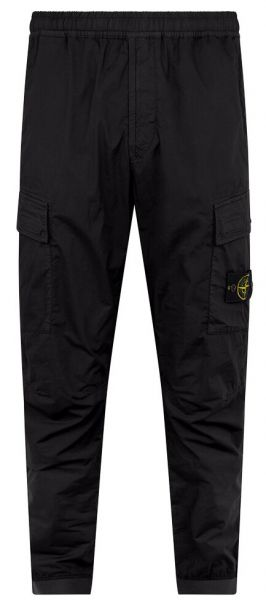 Stone Island Slim Fit Cargo Pants - Black