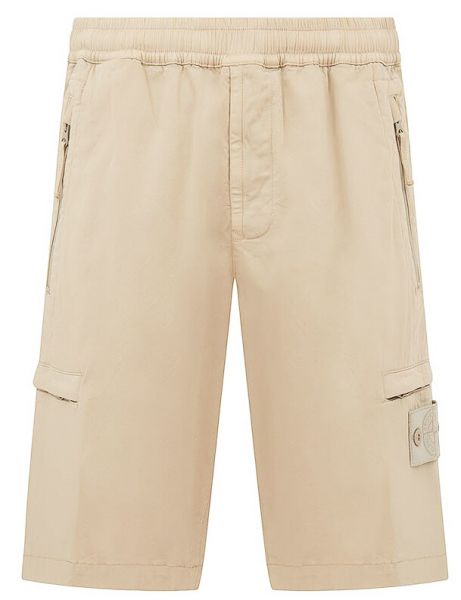 Stone Island Ghost Piece Shorts - Beige