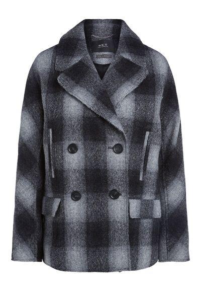 SET Outdoor Coat - Grey Black