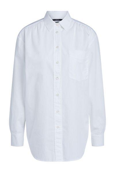 SET Blouse with Pocket - White