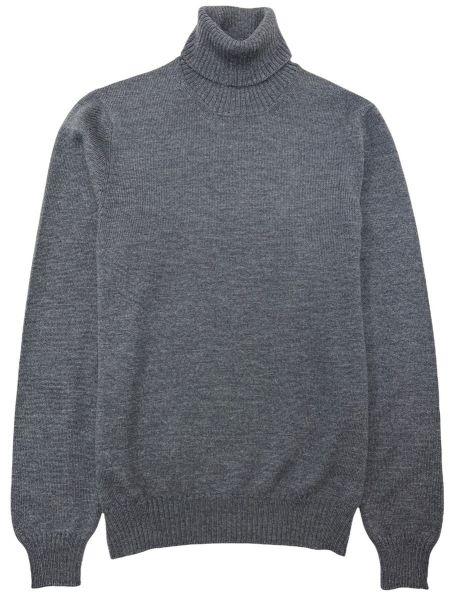 Cellini Wool Turtleneck - Grey