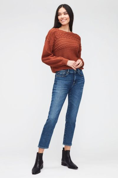 7 For All Mankind Roxanne Ankle Luxe Vintage