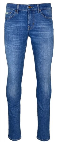 7 For All Mankind Ronnie Stretch Tek - Mid Blue