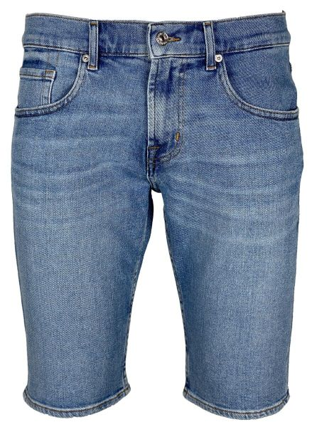 7 For All Mankind Denim Short - Mid Blue