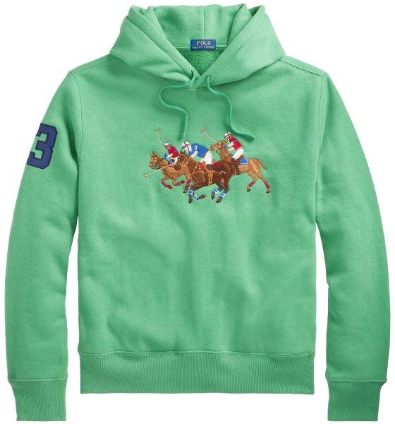 Ralph Lauren Polo Horse Hoodie - Lifeboat Green