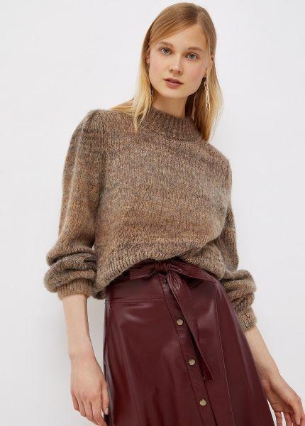 Liu Jo Knitted Sweater - Shaded Tobacco
