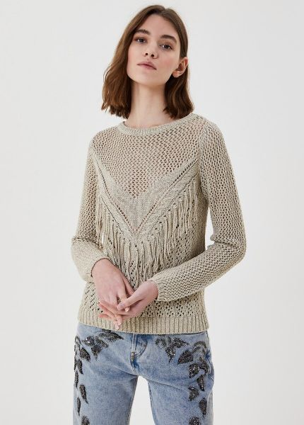 Liu Jo Eco Friendly Jumper With Flounces