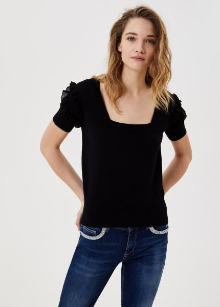 Liu Jo Knitted Top - Black