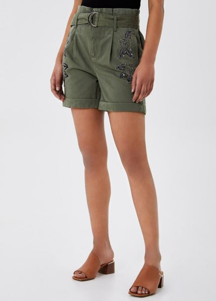 Liu Jo Shorts With Embroidery
