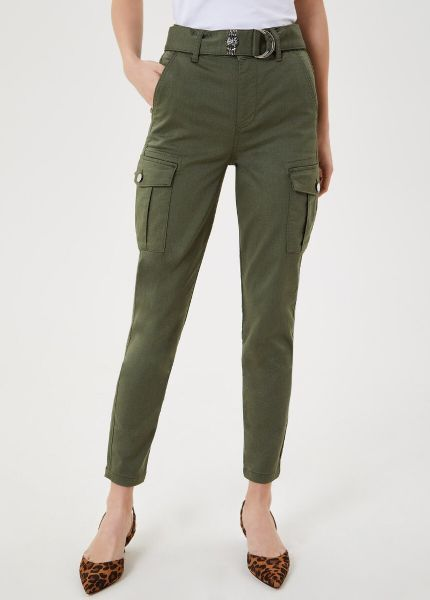 Liu Jo Cargo Trousers With Belt