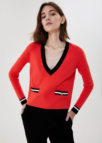 Liu Jo Eco Friendly Jumper - Pink Black