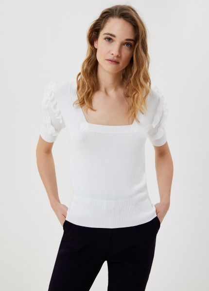 Liu Jo Knitted Top - White