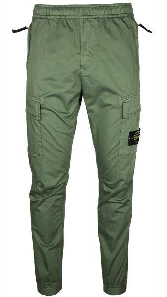 Stone Island Slim-Fit Cargo Pant - Sage Green