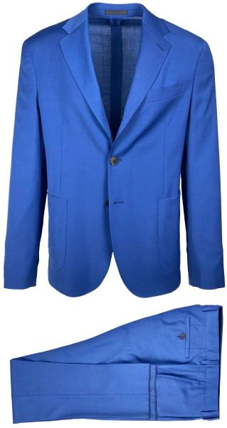 LAB Pal Zileri Travel Suit - Cobalt Blue