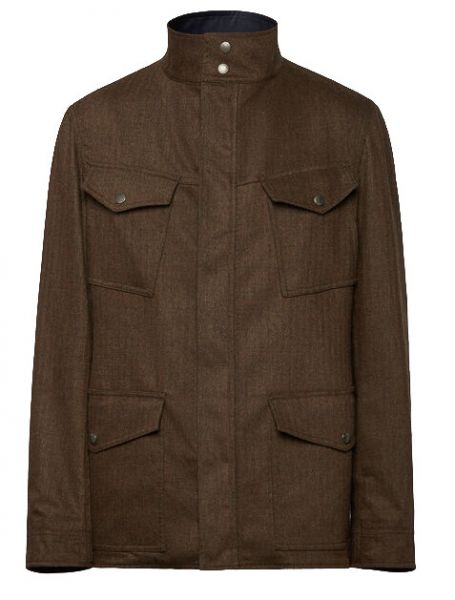 Lardini Reversible Jacket - Brown/Blue