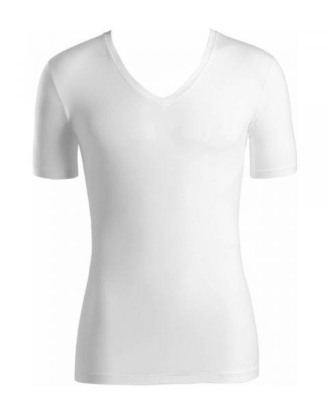 Hanro V-Neck Shirt - Wit