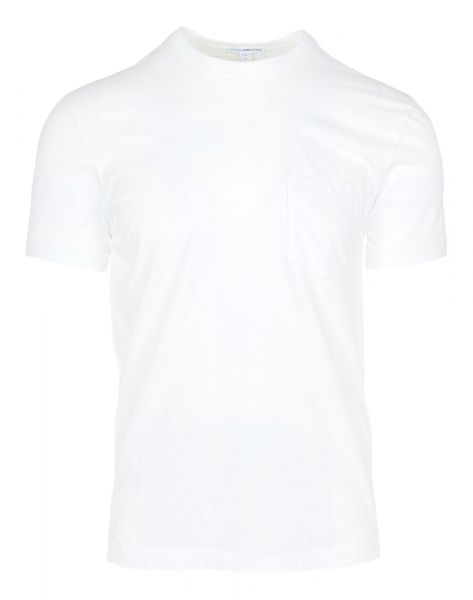 James Perse T-Shirt with Pocket -  White