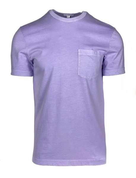 James Perse T-Shirt with Pocket -  Lilac