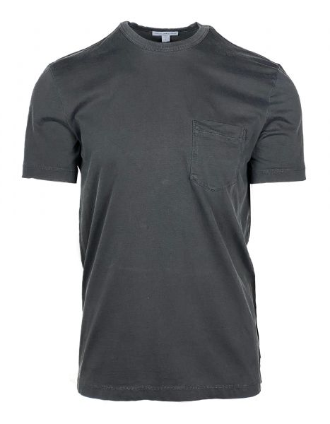 James Perse T-Shirt with Pocket -  Dark