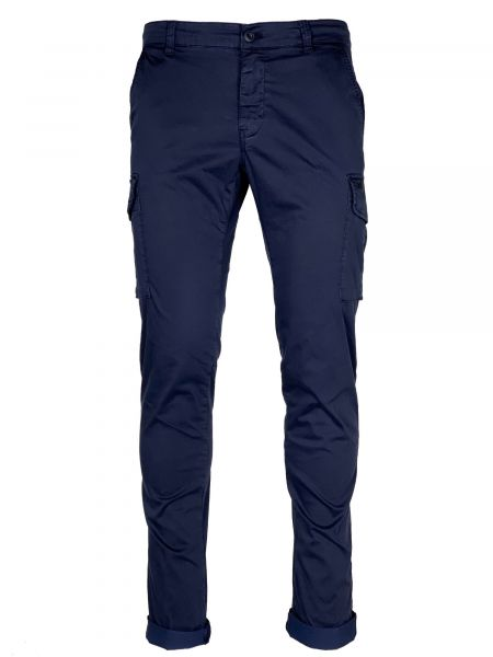 Mason's Cargo Pants - Dark Blue