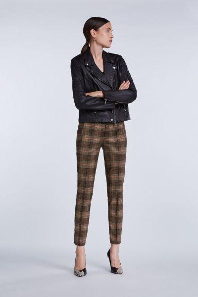 SET Skinny Pantalon In Vintage Ruit