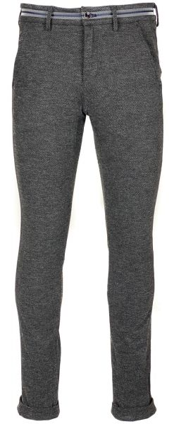 Mason's Wool Stretch Pants - Dark Grey