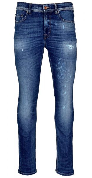 Seven For All Mankind Ronnie - Blue