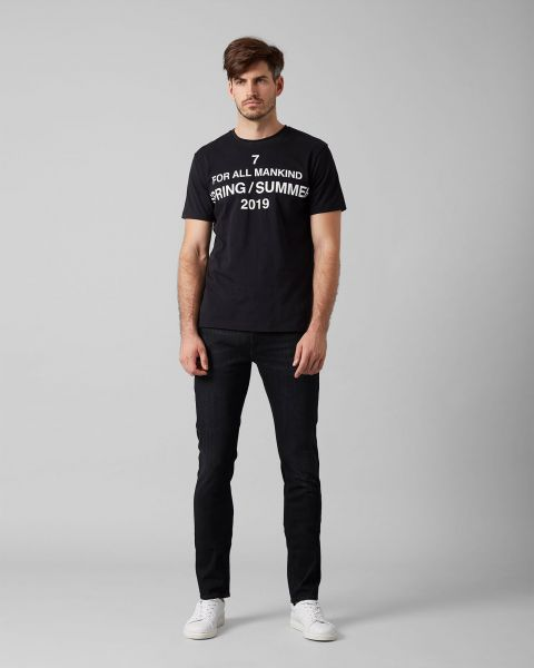 Seven For All Mankind Ronnie Washed Black