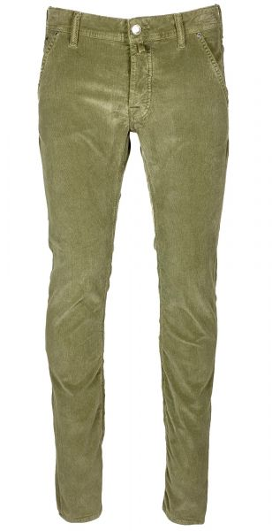 Jacob Cohen J613 Comfort Rib Cord 5-Pocket - Slim Fit - Green