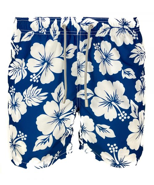 MC2 Saint Barth Swimshort - Hawaiian Ibiscus