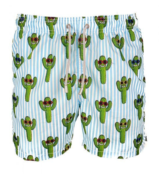 MC2 Saint Barth Swimshort - Happy Cactus