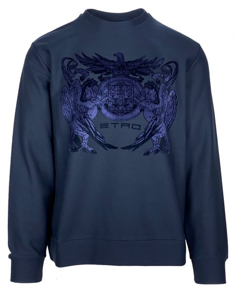 Etro Sweatshirt - Dark Blue