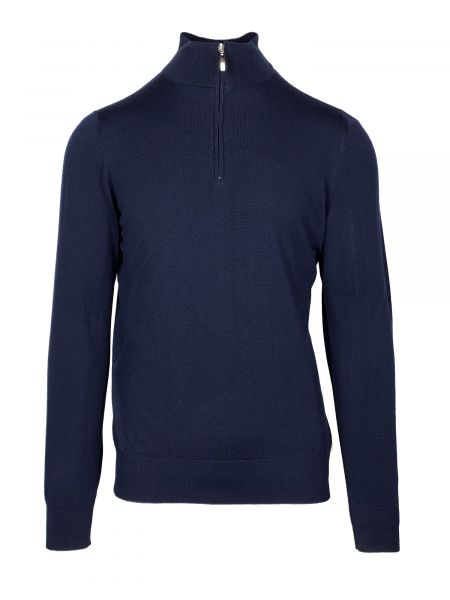 Doriani Pullover Zip - Dark Blue