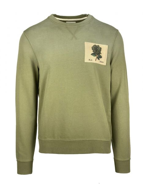 Kent & Curwen Icon Sweater - Deep Olive
