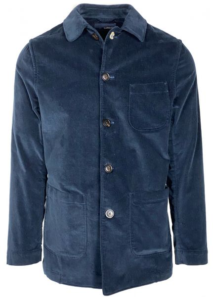 Lardini Shirt Jacket  - Navy