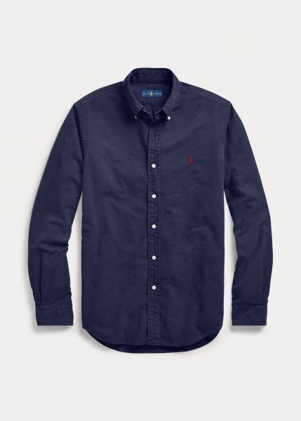 Ralph Lauren Slimfit Oxford Shirt - Navy