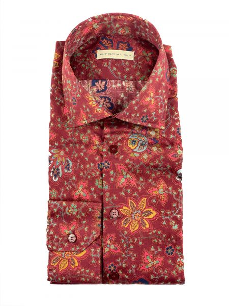Etro Shirt Paisley - Red