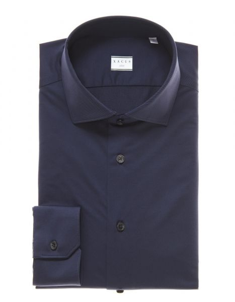 Xacus Shirt Stretch - Dark Blue