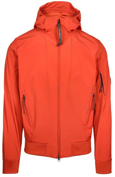 C.P. Company Softshell Jacket - Burnt Ochre