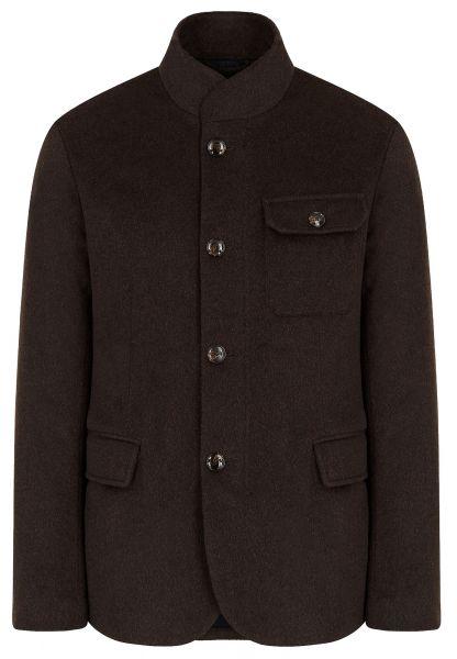 Emporio Armani Blouson Jacket - Brown