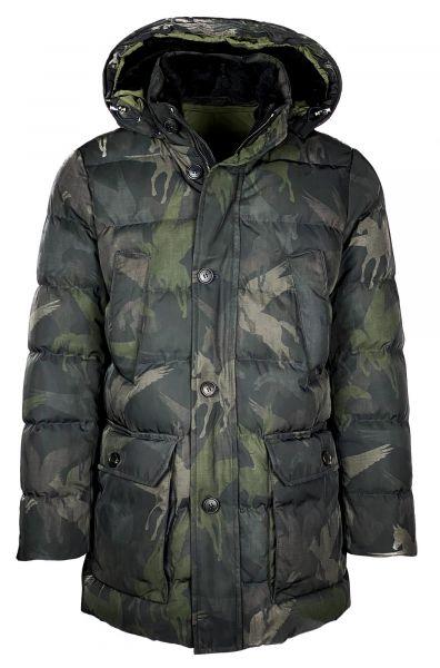 Etro Camo Winterjacket - Dark Green