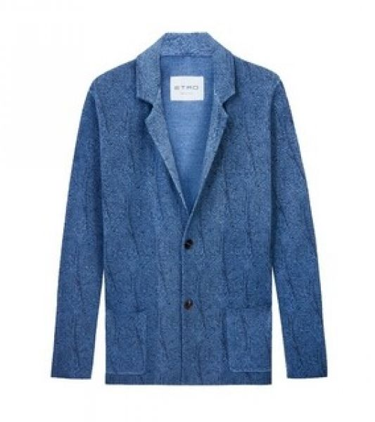Etro Jacket - Light Blue