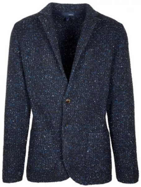 Lardini Knitted Jacket - Blue Black
