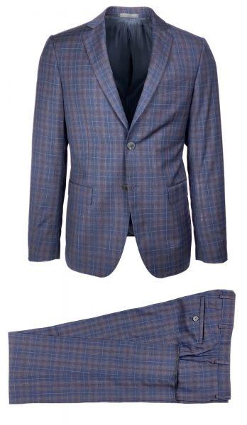 LAB Pal Zileri Suit - Dark Blue/Brown