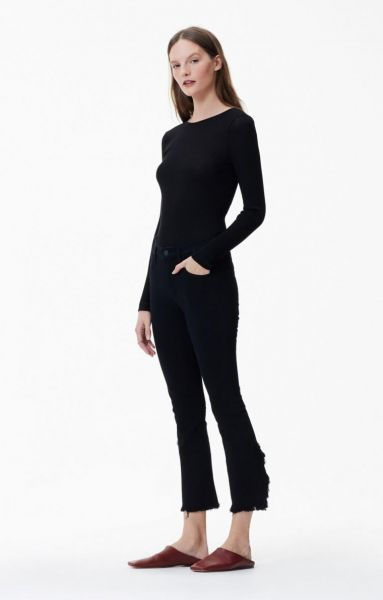 Citizens Of Humanity Jeans - Drew Fray High Rise Crop Flare In Soiree