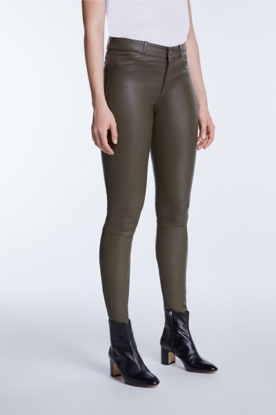 BESTSELLER: SET Dakota Skinny - Dark Khaki