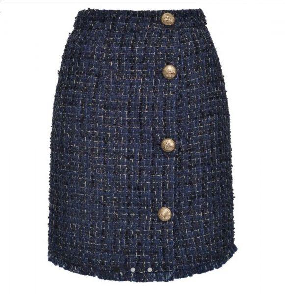 Pinko Tweed Lurex Skirt