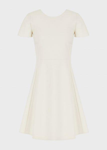 Emporio Armani Cotton Couture Jurkje - Creme