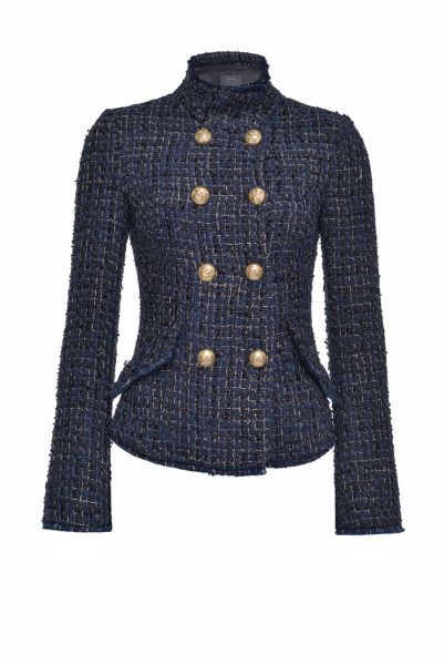 Pinko Tweed Lurex Blazer